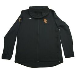 Usc Trojans Nike Football Sweatshirt Team Issued 3 Therma Fit Embroidered Large