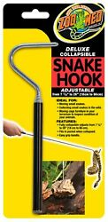Zoo Med Deluxe Collapsible Snake Hook Black 7.25 In 26 in Free Shipping