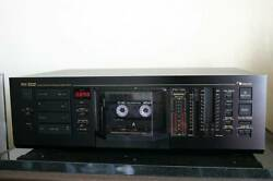 Maintained Nakamichi Rx-202 Theory Uni Directional Auto Reverse
