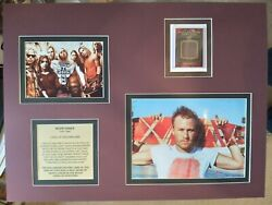 Heath Ledger 2009 Prominent Cuts Hollywood History, Worn Relic In Matted Display
