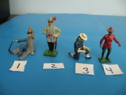 French / Sailor / Cavalry Royal Canadian Soldier Lead Toy 4 Style Pick 1 D14-d17