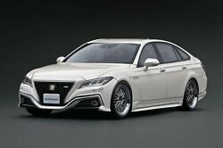 Ignition Model Ig1677 1/18 Toyota Crown 220 3.5l Rs Advance White Bbs Lm Wheels