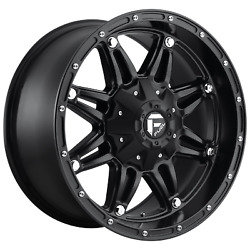 Set Of 4 New Fuel Offroad Hostage D531 1piece 22x12 6x135 -44 Wheel 22 Inch