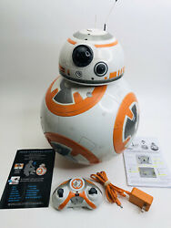 Spin Master Star Wars Bb-8 Fully Interactive Hero Droid W/ Remote, Charger And Box