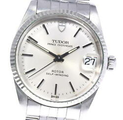 Auth Tudor Watch Oyster Date 72034 Cal.2824-2 Automatic 31mm Arm18cm F/s