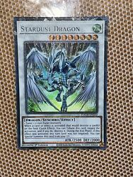 Yugioh Stardust Dragon Collectors Rare/toon Black Luster Soldier 1st Ed