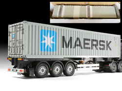 Tamiya Rc 40-foot Container Semi Trailer Finished Product Truck Tractor Maersk