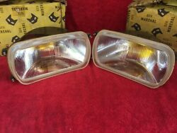 Renault R12 R10 R15 R16 - Sev Marchal Equilux 61226003 With Yellow Bulb 12 Volt