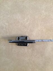 Vintage Perku, Chris Craft Style Boat Rope Tie Down Chrome From The 1950's