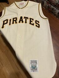 Mlb Mitchell Ness Pirates Jersey 21 Coopertown Collection Roberto Clemente