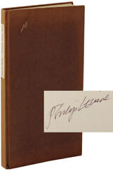 Philip Levine On The Edge Signed Limited 1st Book Stone Wall Press 105352