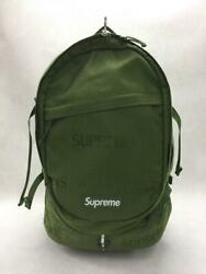 Supreme Grn Nylon Green Fashion Back Pack 4829 From Japan