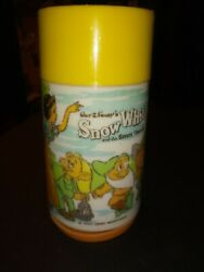 Snow White And The Seven Dwarfs Aladdin Thermo Bottle Parts Damage