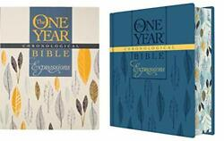 The One Year Chronological Bible Expressions, Deluxe Hardcover, Blue Hardc…