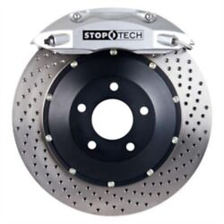 Stoptech 83-320470062 Front Big Brake Kit 355mm X 32mm 2 Piece Drilled Rotors Si