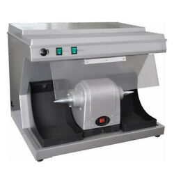 Dental Lab Polishing Unit Vacuum Built-in Suction Dust Collector Fit For Dentist
