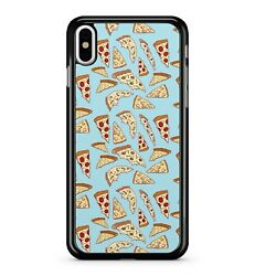 Tasty Cheese Tomato Pepperoni Pizza Pattern Food Delicious 2d Phone Case Cover