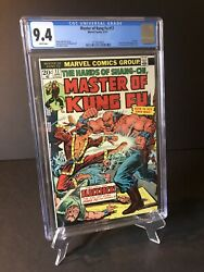 Master Of Kung Fu 17 Cgc 9.4 White Pages 1st App Black Jack Tarr 1974