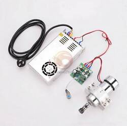 Cnc 0.3kw Er11 Spindle Motor Kit + Power Supply + 52mm Clamp + Speed Controller