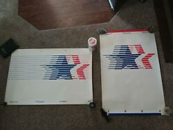 2 Vintage Signed Posters 1984 Olympic Games 23rd Olympiad Sports History Collect
