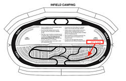 2 Texas Motor Speedway All-star Race Infield Camping Sites June13, 2021