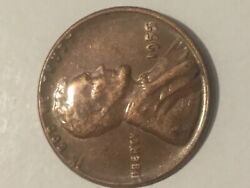 1955 Lincoln Wheat Penny Cent - Poor Mans Double Die