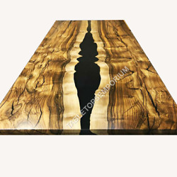 Epoxy Resin Dining Table, Coffee Table Top, Custom Made Dining Table Top Decor