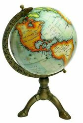 Nautical World Map Globe Brass Antique Ornament Table Top Vintage Lot Of20 Pcs
