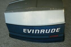 Evinrude Vro 70 Hp Hood Cowl Cowling Cover 1987 Model Number E70elcur