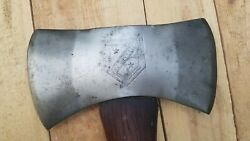 Early Vintage Wyeth Hardware Kelly Axe And Tool Company Double Bit Axe