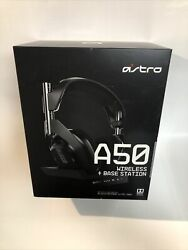 Astro A50 + Base Station Wireless Headphones Gen 4 Playstation Ps4 / Ps5 - New