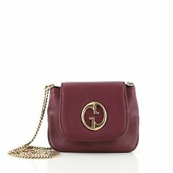 Gucci 1973 Chain Shoulder Bag Leather Small $594.00