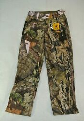 Browning Hell's Belles Camo Hunting Pants Womens Medium New Soft Shell Lined