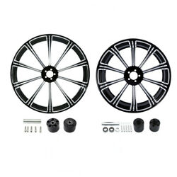 21 Front 18'' Rear Wheel Rim W/disc Hub Fit For Harley Road Electra Glide 08-21