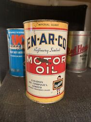 Rare Enarco Imperial Quart Outboard Oil Can