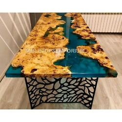 Live Edge Wooden Epoxy Table Coffee /dining Top | Dining Table Top | River Table