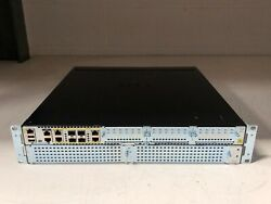 Cisco Isr4451-x-sec/k9 Genuine Router And Brackets And Blanks And Power Lead