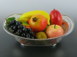 Antique Sterling Silver 1884 Aesthetic Movement Dominick Haff Fruit Serving Bowl
