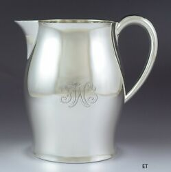 Fabulous And Co Sterling Silver Colonial Paul Revere Style Water Pitcher