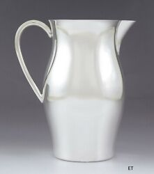 Sterling Silver American Colonial Paul Revere Repro Water Pitcher By Boardman