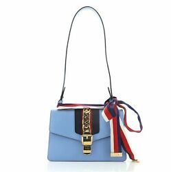 Gucci Sylvie Shoulder Bag Leather Small $1536.00