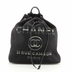 Deauville Backpack Canvas Large