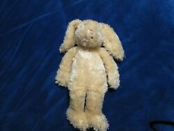Jellycat 13 Old Friend Shaggy Beige Bunny Rare