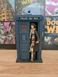 Doctor Who - Shada Tardis And 4th Doctor With Sonic Screwdriver Classic Figure Set