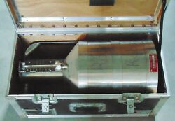 Test Measure Fuel Calibration Stainless Tank W/ Case 5 Gallon 20 Liters Seraphin