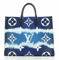 Louis Vuitton Onthego Tote Limited Edition Escale Monogram Giant Gm
