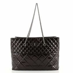 Reissue Tote Quilted Patent East West