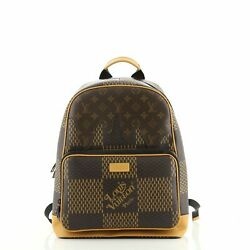 Louis Vuitton Nigo Campus Backpack Limited Edition Giant Damier And Monogram