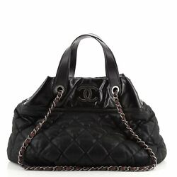 In The Mix Tote Quilted Iridescent Calfskin Large