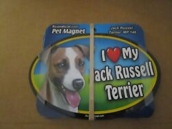 Car Auto Truck Pet Animal Magnet Dog Jack Russell Terrier